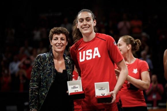 Бриана Стюърт избрана за MVP на Световното за жени