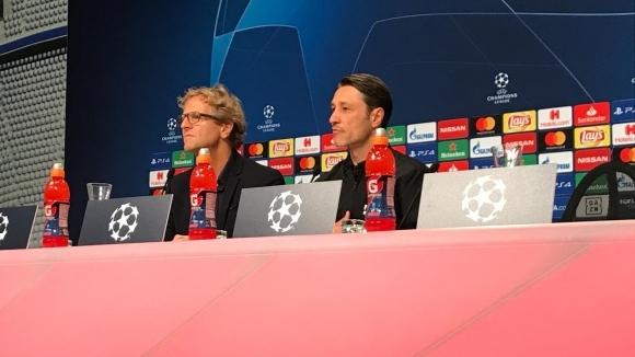 Нико Ковач: Искаме да поставим нашия печат в мача с Аякс