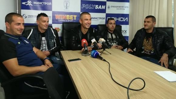 Новият треньор на Дунав: Днес съм един от най-щастливите хора
