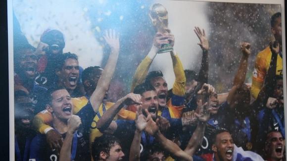 Световното първенство по футбол пристигна в България със специална изложба