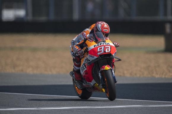 Маркес спечели първата квалификация на MotoGP в Тайланд, Роси - втори