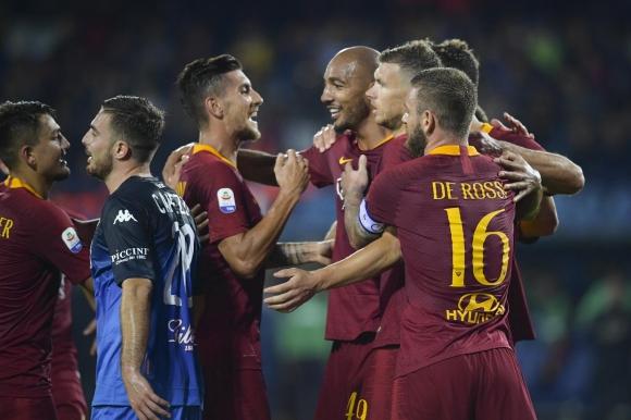 Рома излезе трети в Серия А (видео)