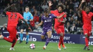 Ница изпусна победата срещу Тулуза