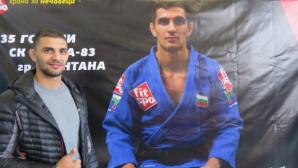 Ивайло Иванов посети турнир по джудо в родния си град