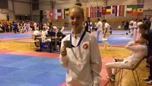 Ванеса Маркова спечели сребърен медал на международен турнир по таекундо в Рига