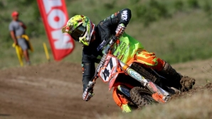 Майкъл Иванов завърши блестящо предпоследния кръг от шампионата по мотокрос