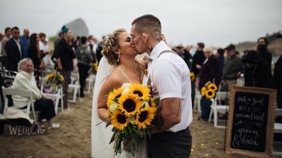 ММА красавица мина под венчилото