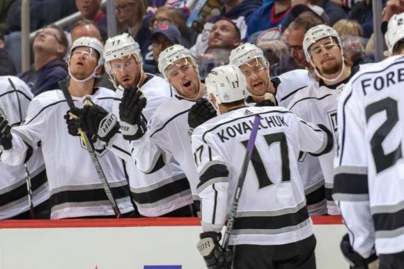 Първи гол на Ковалчук в НХЛ от пет години не стигна на Лос Анджелис