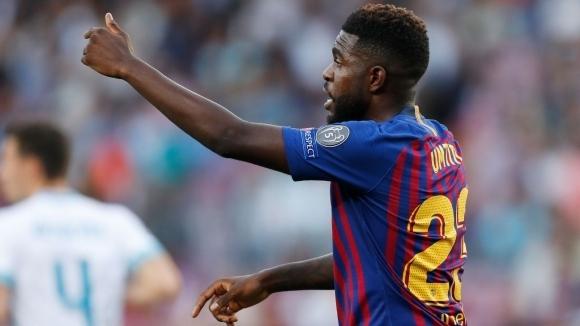 Барселона може да загуби Юмтити до края на годината