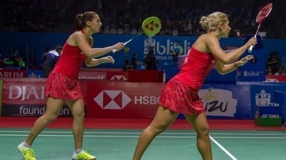 Сестри Стоеви се класираха за четвъртфиналите на двойки в Холандия