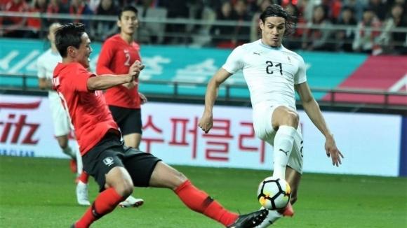 Корейците повалиха Уругвай