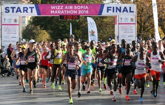 Митко Ценов №1 на 10 км на Софийския маратон