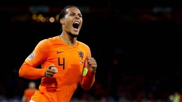 Ван Дайк: Победата над Германия ще съживи Холандия