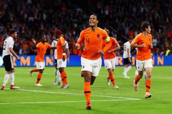 Ван Дайк няма да играе за Холандия срещу Белгия