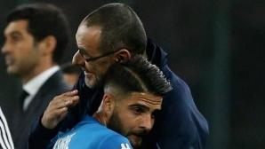 Маурицио Сари посочи тримата най-добри италиански футболисти