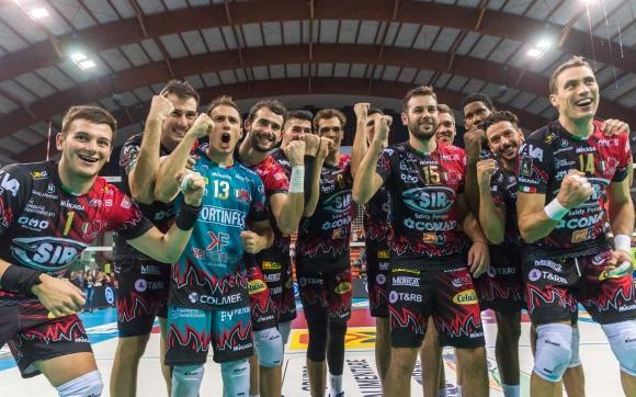 Перуджа започна с победа защитата на титлата си (видео + снимки)