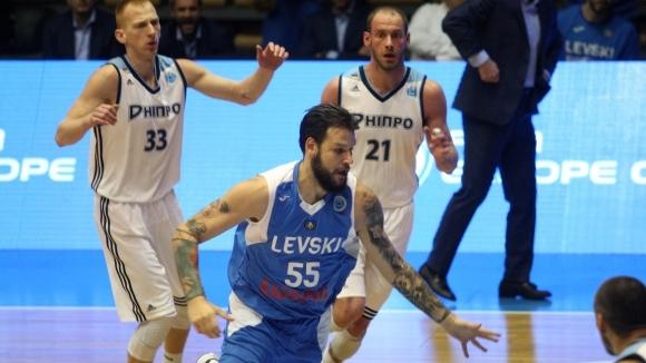 Левски Лукойл тръгна с успех в групите на ФИБА Къп (галерия)