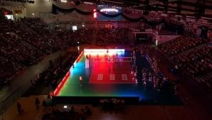 Опасност за пожар и токова авария прекрати първия мач на БГ Шчечин в Полша (видео + снимки)