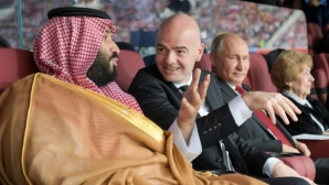 Саудитският престолонаследник на преговори за Манчестър Юнайтед