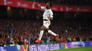 Испания - Англия 0:2