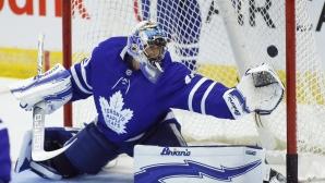 Спаркс спаси 33 шайби и Торонто надви Лос Анджелис