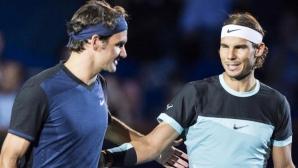 Попитаха Надал дали Федерер е най-великият в историята, ето неговият отговор
