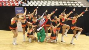 Шуменските мажоретки със сребро на Европейското първенство в Хърватия