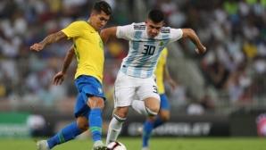 Гол в добавеното време реши Суперкласиката между Аржентина и Бразилия