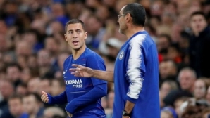 """Сари: Азар може да спечели всичко с Челси, включително и """"Златната топка"""""""