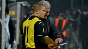 Крис Добрев попадна в групата на Ботев (Пловдив) за мача с Черно море