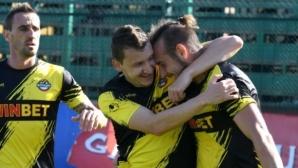 Ботев Пд с трета поредна победа - куп пропуски и гол от засада спряха Черно море в Пловдив (видео)