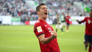Волфсбург - Байерн 0:1 (гледайте тук)