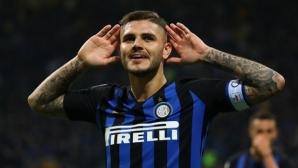 """Интер - Милан 0:0, по един отменен гол и греда за """"нерадзурите"""""""