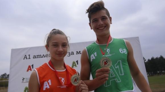 Победи за Разград и Петрич в младежката атлетика
