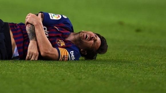 Лионел Меси е контузен за 21-ви път, но Барса печели и без него