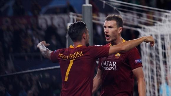 Джеко: Рома няма право на грешка в Москва