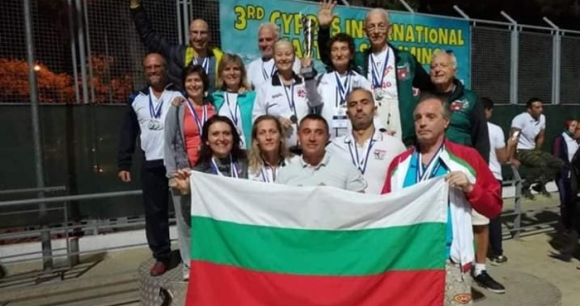 Ветераните обират медалите в Кипър