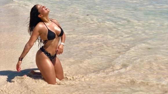 Жената на Мауридес не се спира, пак подлуди Инстаграм (снимки+видео)