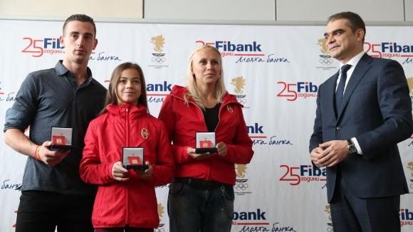 Кметът на Бургас отличи олимпийските шампиони Мариела Костадинова и Панайот Димитров