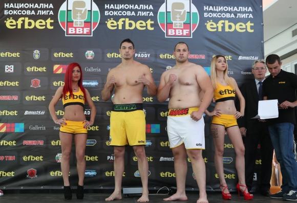 Успешен кантар за боксьорите в Бургас