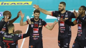 Цветан Соколов игра цял мач, Лубе с втора победа в Италия