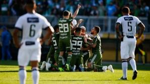 Палмейрас излезе с 4 точки начело в бразилското първенство
