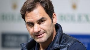 Федерер разкри за контузия в дясната ръка