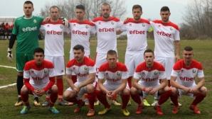 Футболистите на Беласица се стягат за успех в Сливница