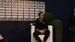 Федерер не вярвал, че ще стане шампион в Базел