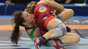 Виктория Бобева и София Георгиева ще участват в репешажите за бронзовите медали на Световното първенство по борба