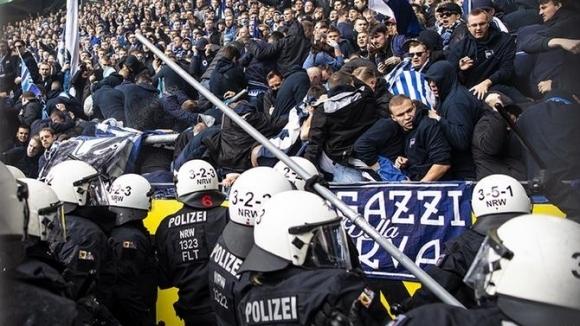В Германия започна разследване за инцидентите с феновете на Херта