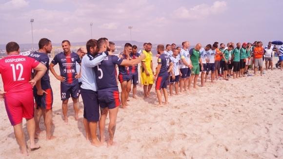 Комисията по плажен футбол с висока оценка за сезона, награден фонд от 23 000 лева бе раздаден в държавното