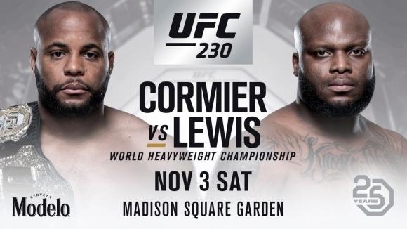 Победа и на Кормие, и на Люис на UFC 230 е предпоставка за големи печалби