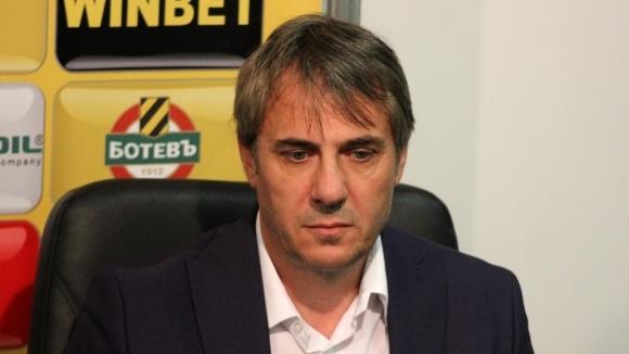 Адалберт Зафиров: Мястото на Ботев (Пд) е в тройката